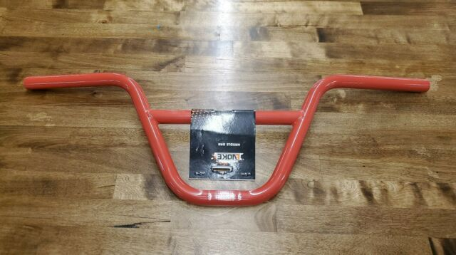 Red NEW R4 Alloy Matte Anodized BMX Handlebar Bicycle 25.4