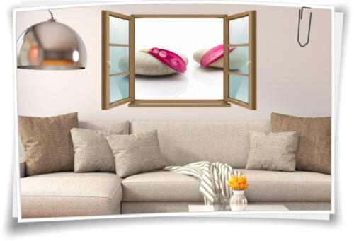 show original title Details about  /Wall Tattoo Wall Picture Window Spa Wellness Leaves Flowers Stones recovery slide
