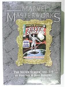 US-MARVEL-MASTERWORKS-Vol-15-SILVER-SURFER-Gold-Edition-Hardcover