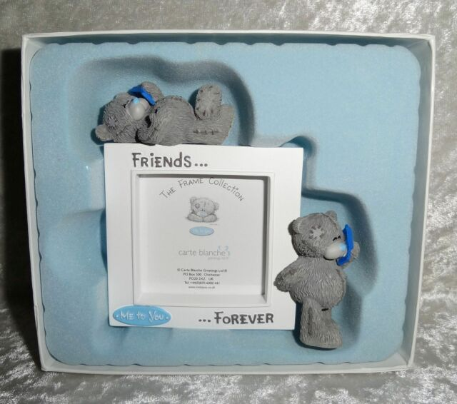 Me to You Friends Forever Tatty Bear Picture Frame Collection CARTE ...