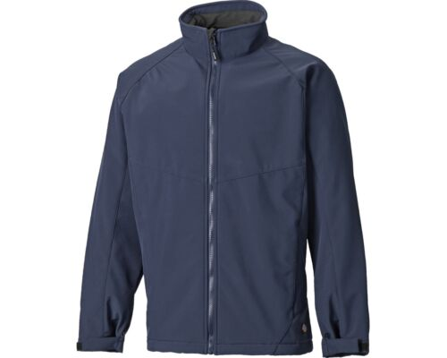 Dickies Giacca Softshell Impermeabile Traspirante Full Zip Cappotto