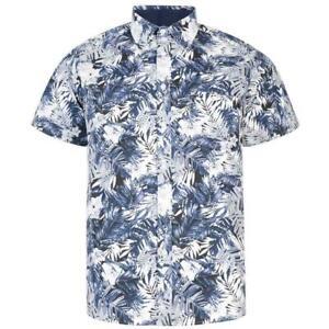New-KAM-Mens-Big-Tall-Size-Floral-Beach-Beachwear-Short-Sleeve-Shirt-HAWAIIAN