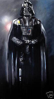 Darth Vader  painting star wars art print by Andy Baker street urban abstract