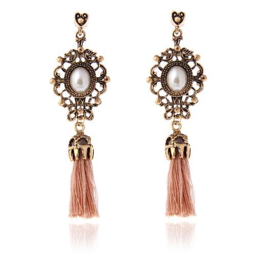Long Tassel Earrings for Women