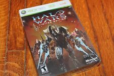 Halo Wars Limited Edition (Xbox 360) Complete Steel book Novel Cards Unopened VG