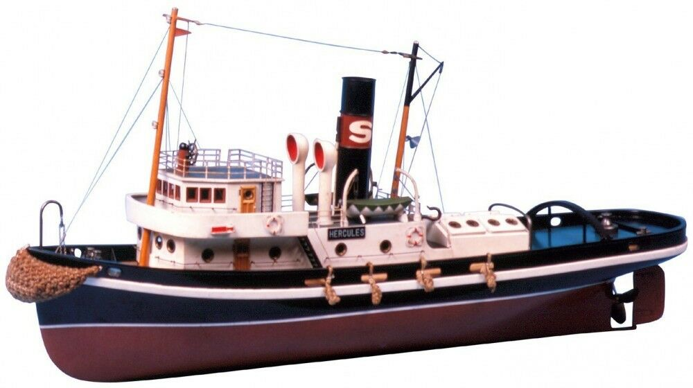 Saito Steamboat  HERCULES  Ocean Tugboat Hull Model Kit New from Japan