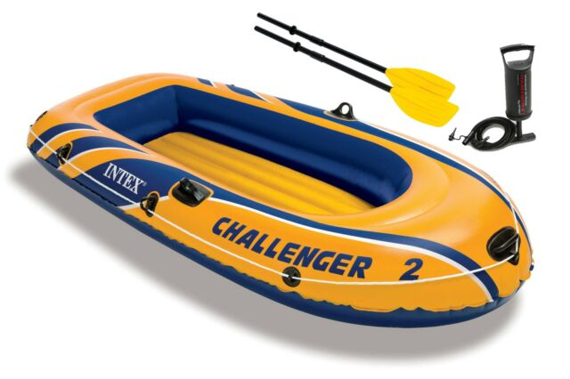Inflator Summer Special Gift Intex Challenger Inflatable Boat Set with Oars