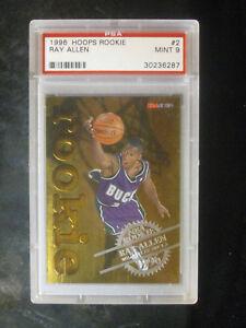 1996-Hoops-Ray-Allen-Rookie-2-Milwaukee-Bucks-PSA-9-MINT-512