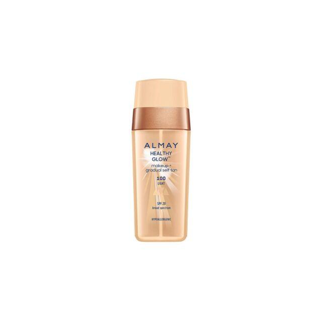 ALMAY Healthy Glow Makeup + Gradual Self Tan LIGHT 100 NEW 30mL