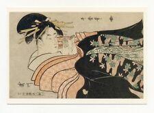 AK Kitagawa Utamaro · Oiran beim Lesen eines Briefes · Preetorius  verlagsfrisch