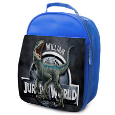 T REX Lunch Bag School Dinosaur Childrens Insulated Lunchbox Personalised KS230