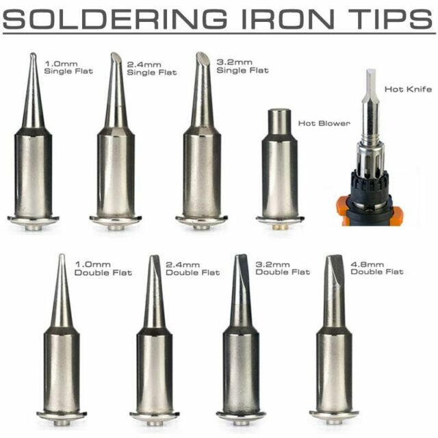 PORTASOL GAS SOLDERING IRON SPARE TIPS ENDS