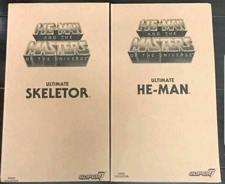 Super7 Masters of the Universe Classics Ultimate Skeletor He-Man Set 2.0