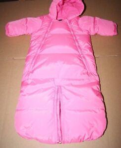 15c9b292685b Baby Gap Snowsuit Bunting Warmest Bag Bundler Pink Sugar Plum up to ...