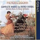 Felix Mendelssohn - Mendelssohn: Complete Works for Piano 4 Hands (2003)
