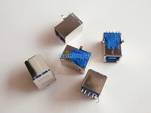2X USB 3.0  Female Jack 9 Pin Sockect Type B Connector for Printer / STB