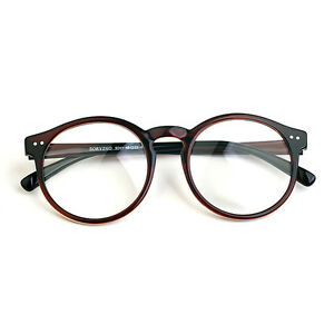 9a2ed0da23a Image is loading 1920s-Vintage-oliver-Retro-eyeglasses-41R82-Brown-Round-