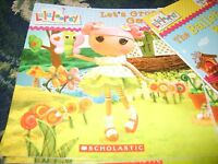 Lalaloopsy: Let's Grow A Garden By Lauren Cecil (2012, Paperback Scholastic