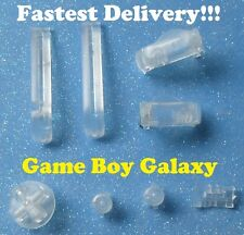 Nintendo Game Boy Advance Custom GBA BUTTONS SET Bumpers Shoulder D-Pad  ~ CLEAR