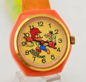 L077 Vintage Citizen Woody Woodpecker Mechanical Watch ...