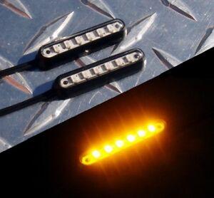 Surface LED Turn Signals R1 R6 R3 MT09 GSXR 400 650R ZX6 ZX10 Z1000 CBR 1098 675