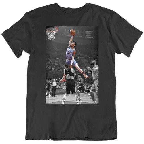 Ja Morant Poster Over Kevin Love Memphis Basketball Fan v2 T Shirt