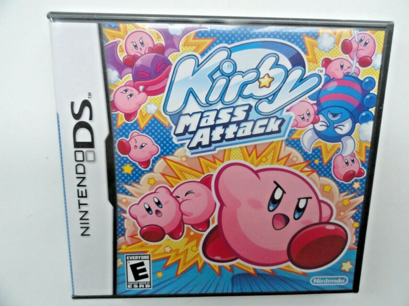 Kirby Mass Attack (Nintendo DS, 2011) NEW SEALED