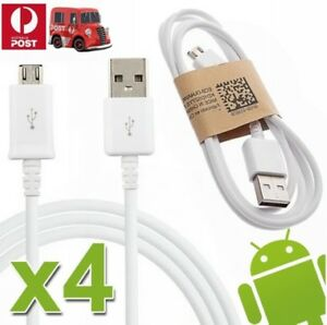 4x-GENUINE-Samsung-Micro-USB-Data-FAST-Charger-Cable-For-Galaxy-S7-EDGE-S6-S5-S4