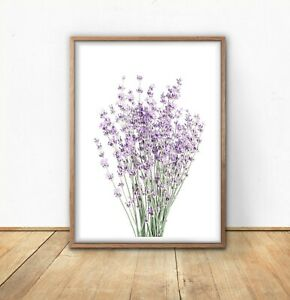 Lavender Photography Minimalist Wall Art Prints Lovely On Any Wall Ebay