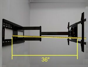 36-034-Long-Single-Arm-Ext-Wall-Mount-Bracket-for-Samsung-LG-Vizio-LED-TV-65-60-55