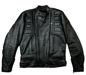 nera pelle M Harley Biker Motorcycle l 50 Belstaff Outlaw di Giacca aHqBww67