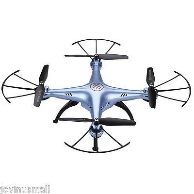 Syma X5HC 2.0MP HD Camera RC Headless Quadcopter Drone Barometer Elicotteri Blu