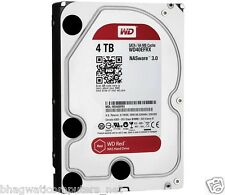 "WD 4TB Red Sata Nas Hard Disk Drive 3.5"" 6 Gb/s 64MB Cache 4 TB Western Digital"