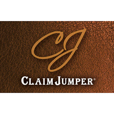 $50 Claim Jumper Gift Card - Mail Delivery