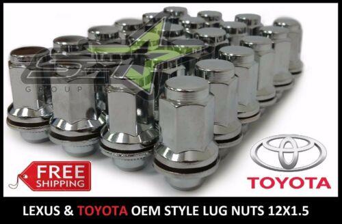 24 PC OEM FACTORY MAG LUG NUTS FITS TOYOTA 12X1.5 FOR TOYOTA AND LEXUS MAG WHEEL