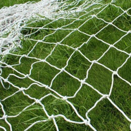 US 18x 6ft Football Net PE for Soccer Goal Post Junior Sports Training Outdoor