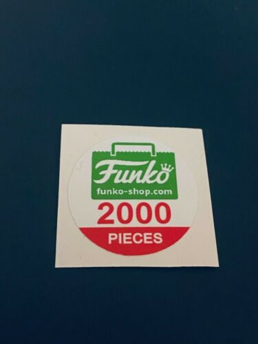 Funko Shop Exclusive AND Holiday Funko Pop Figure Replacement Sticker