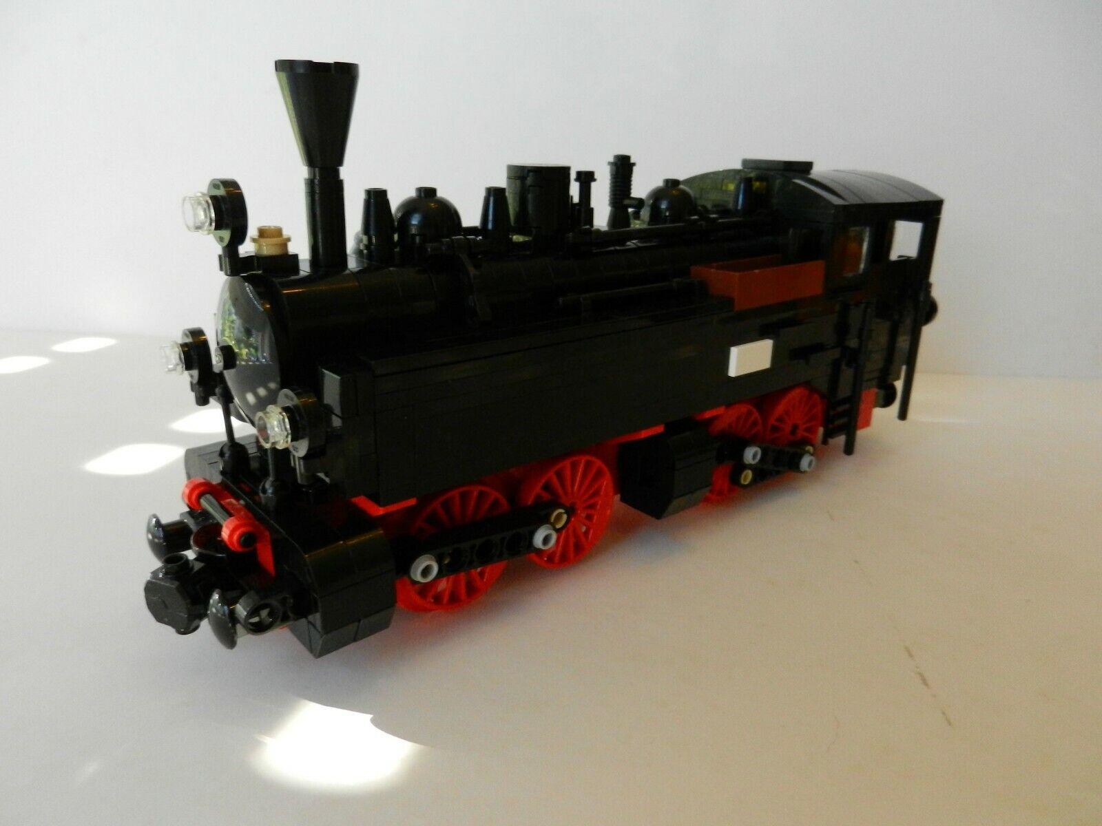 PDF-Anleitung Diesellok DR BR 199.8 Harzkamel MOC Unikat LEGO©-Steinen 60198