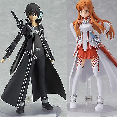 Anime Sword Art Online Kirigaya Kazuto Figma 174 PVC Action Figure Toy No Box