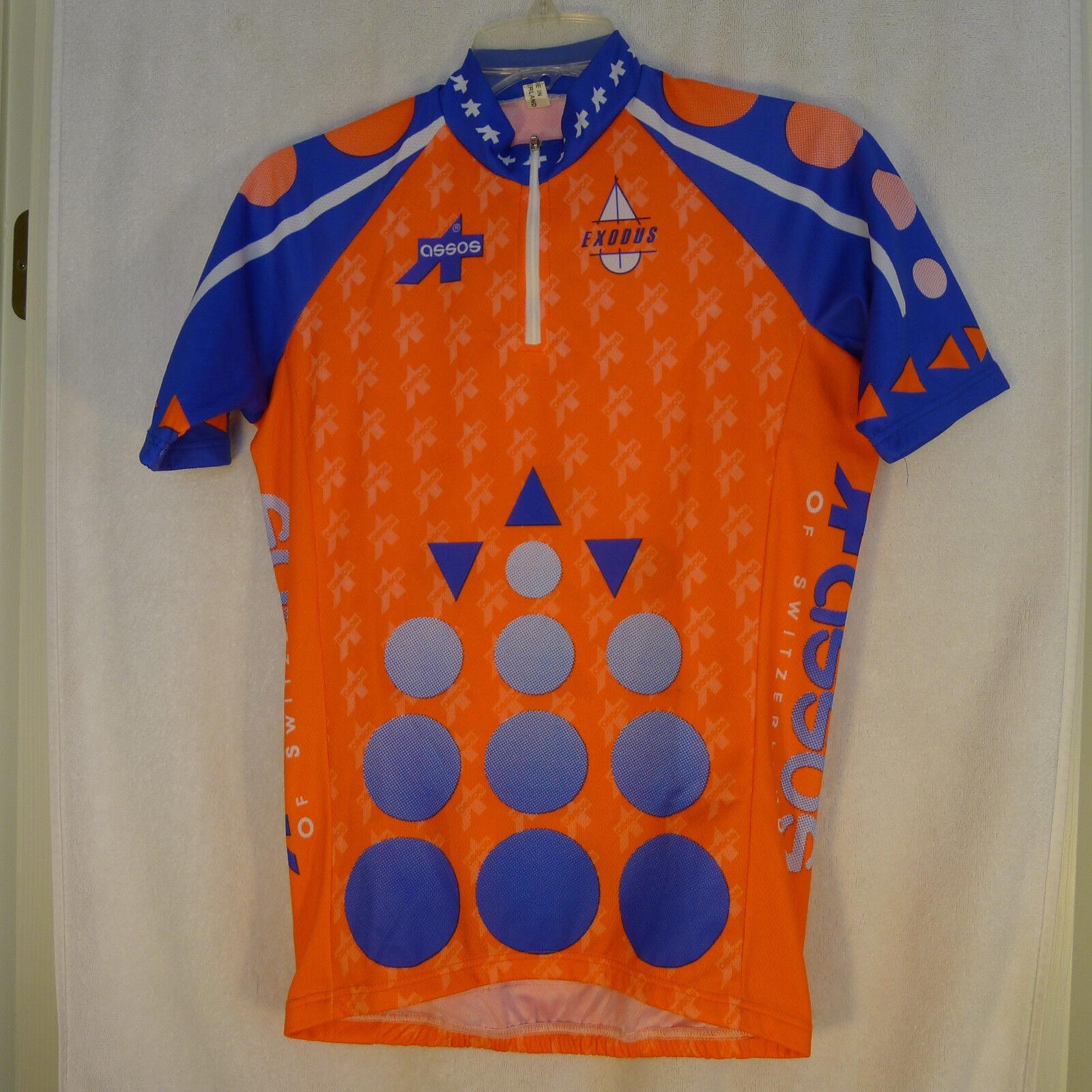 ASSOS Small EXODUS Half Zip Cycling Jersey MADE SWITZERLAND
