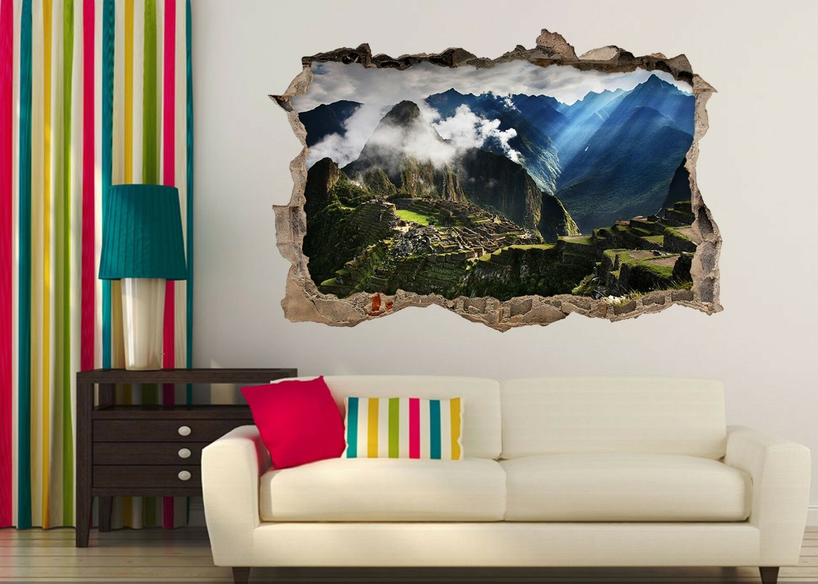 3D Inca Scenario Impero Parete Murales Adesivi Decal Sfondamento AJ WALLPAPER IT