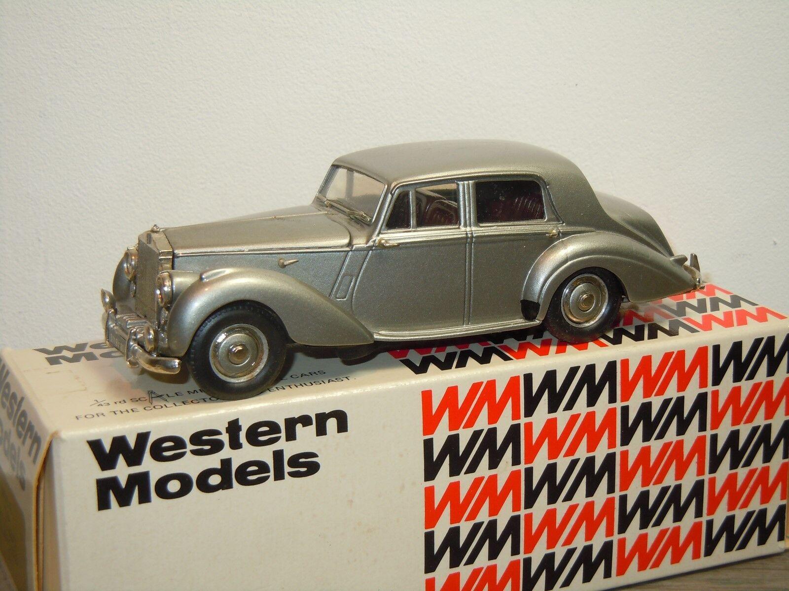 marca Rolls Royce plata Dawn 1949 - Western Models WMS WMS WMS 57 England 1 43 in Box 35681  promociones