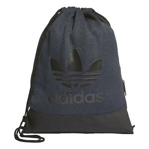 272539a8fd7c Image is loading NEW-ADIDAS-ORIGINALS-TREFOIL-DRAWSTRING-GYMSACK-BACKPACK- BAG-