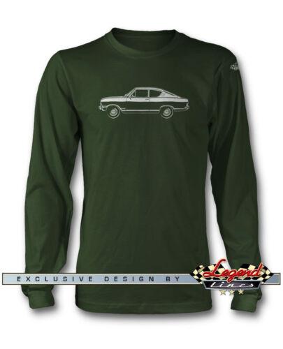 Opel Kadett B Coupé 1965-1973 manches longues T-Shirt-plusieurs tailles et couleurs
