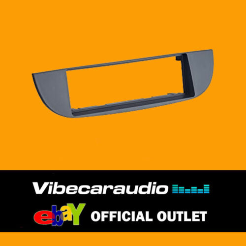 Autoleads FP-01-11 Fiat 500 08 /> Estéreo De Coche Negro Fascia Panel Negro Single Din