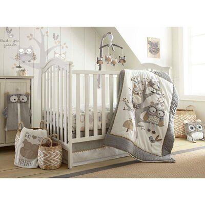 Levtex Baby Night Owl 5 Pc Crib Bedding, Levtex Baby Zambezi 5 Piece Bedding Set