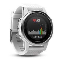 Garmin Fenix 5s White 42 Mm Premium Gps/glonass Fitness Sport Watch 010-01685-00