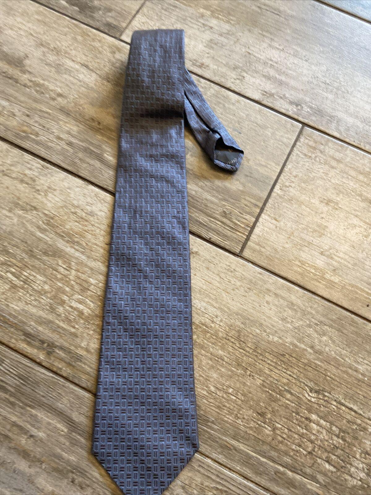GARDEUR Mens Tie Grey Pattern Business Elegant
