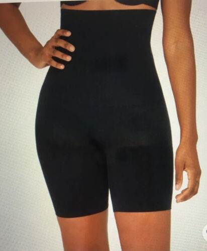 Spanx Assests Size 4 XL  Sensational Shaper Mid Thigh Black  NWT New XL