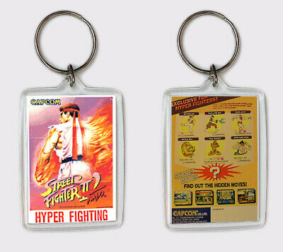 SUPER STREET FIGHTER 2 X GRAND MASTER CHALLENGE DREAMCAST KEYRING LLAVERO